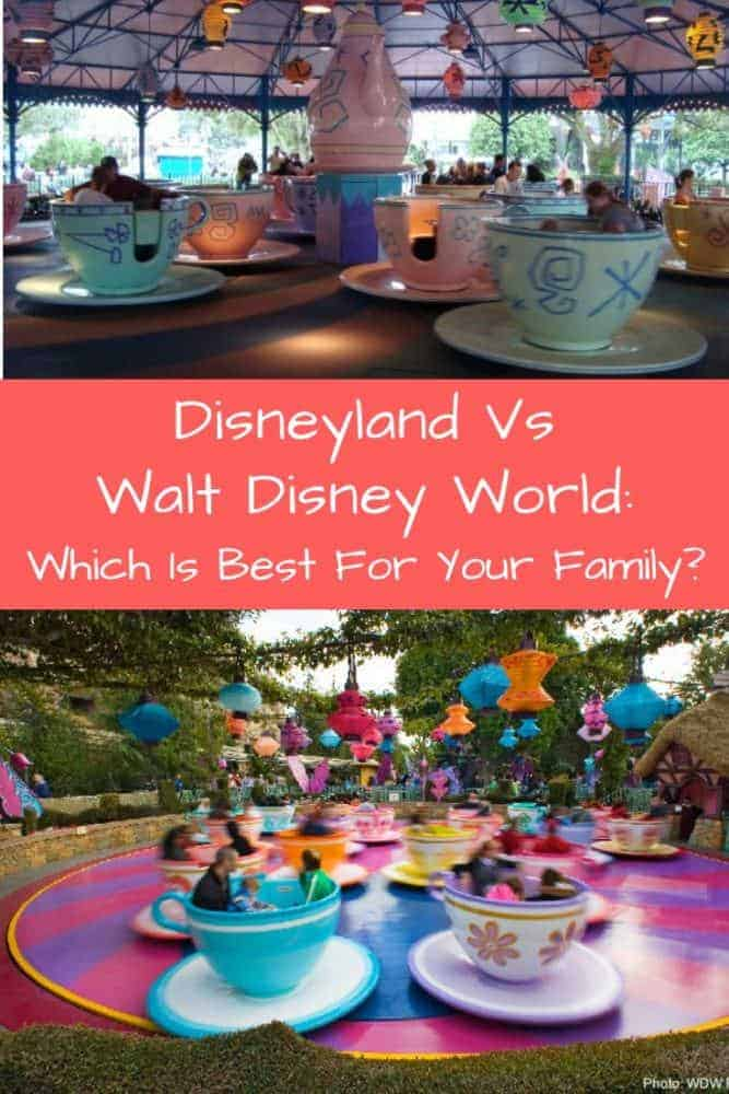 Disney world vs disneyland, how do they compare? Which is better for your family? We compare rides, hotels, character meals and more. #disneyland #disneyworld #compare #howaretheydifferent? #whatage?