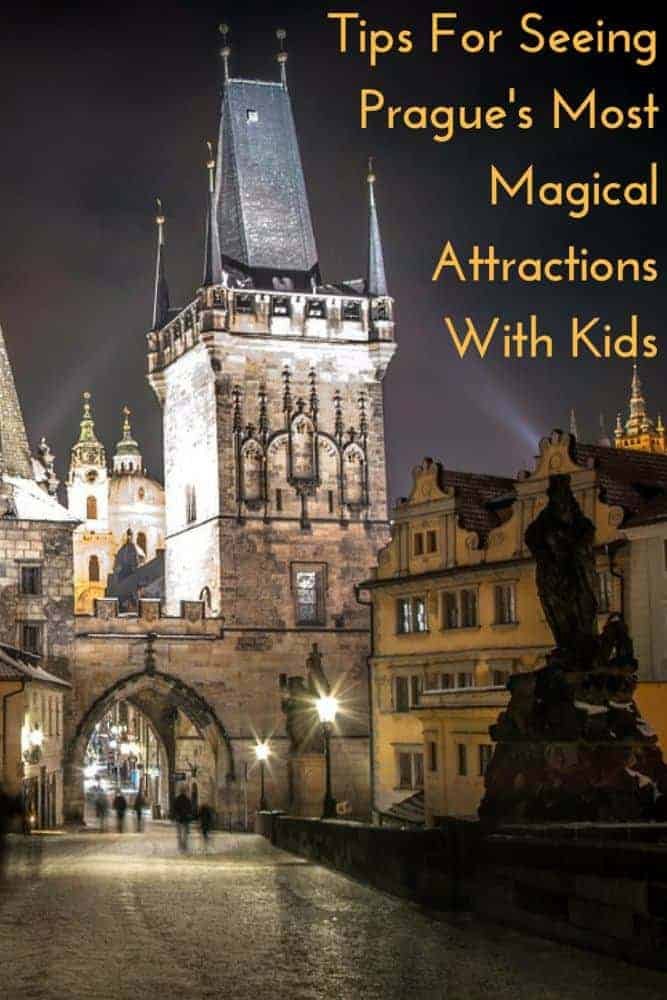 Prague Is not the first city families think of for a vacation in Europe. But this Czech capital has rich history and culture and is easy to see with kids and teens. Here are our tips for seeing the top sights. #prague #kids #family #vacation #teens #thingstodo