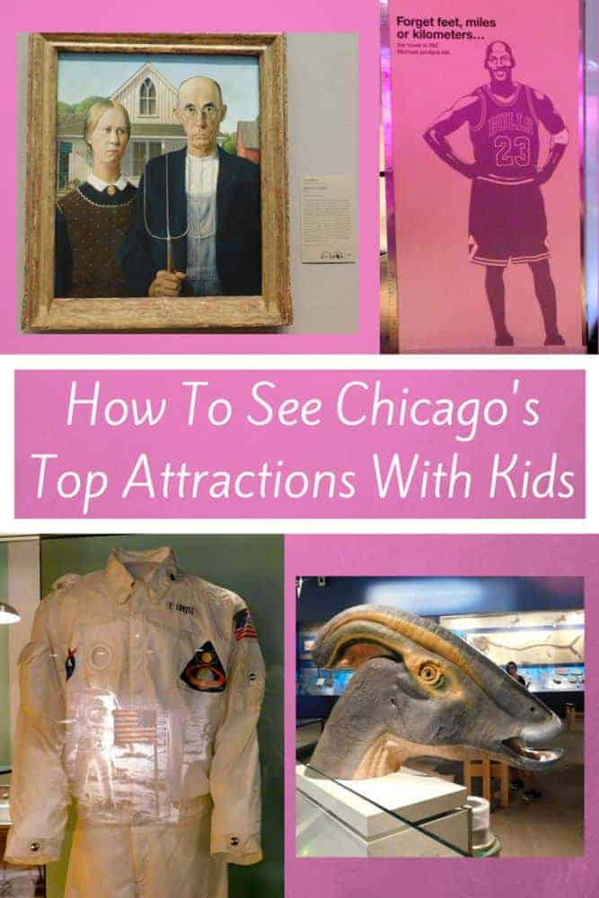 Here are the top 6 things to do in chicago. All are great activities to do with kids. The hard part will be narrowing down your list of things to do so just plan to do them all. #chicago #kids #attractions #vacation