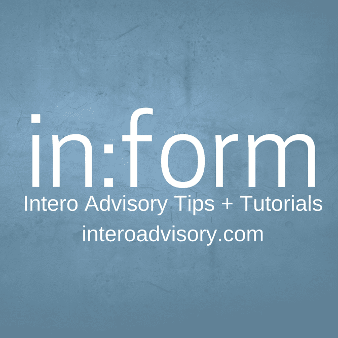 Inform Tip and Tutorials