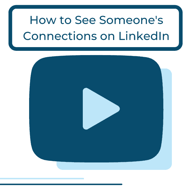 see connections on linkedin