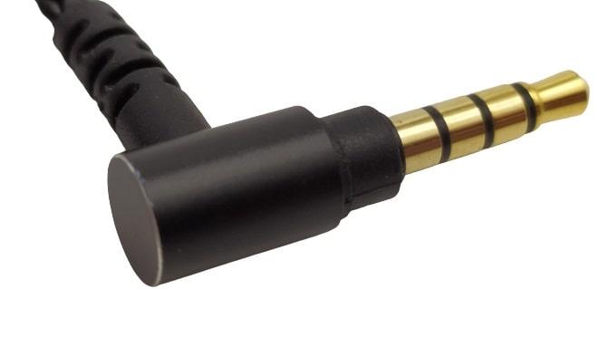 Image shows the angled jack plug.
