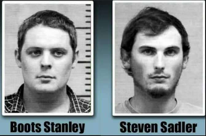 Boots Stanley and Steven Sadler Sentenced