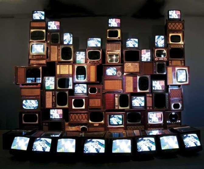 Nam June Paik, Mirage Stage, 1986