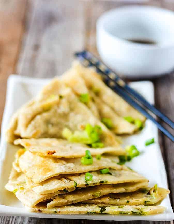Chinese Scallion Pancakes (Gluten-Free)
