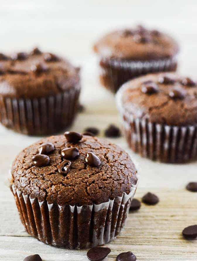 Carob Muffins (Vegan, Gluten-Free