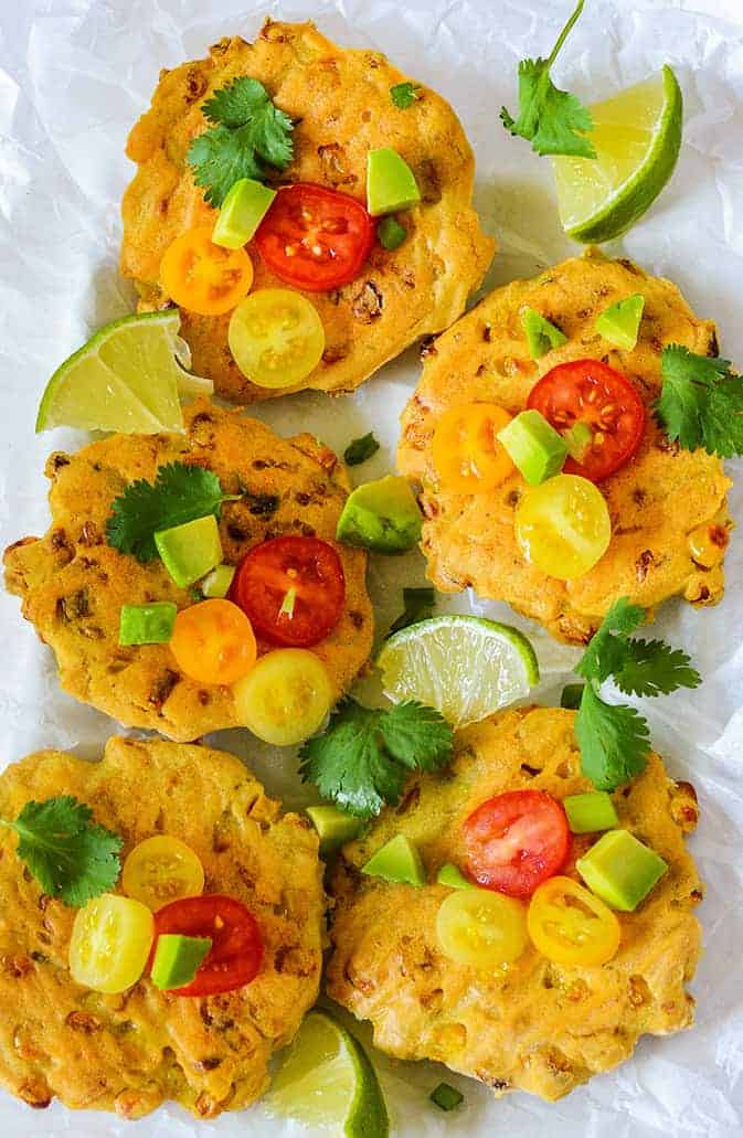 Vegan Corn Fritters Recipe