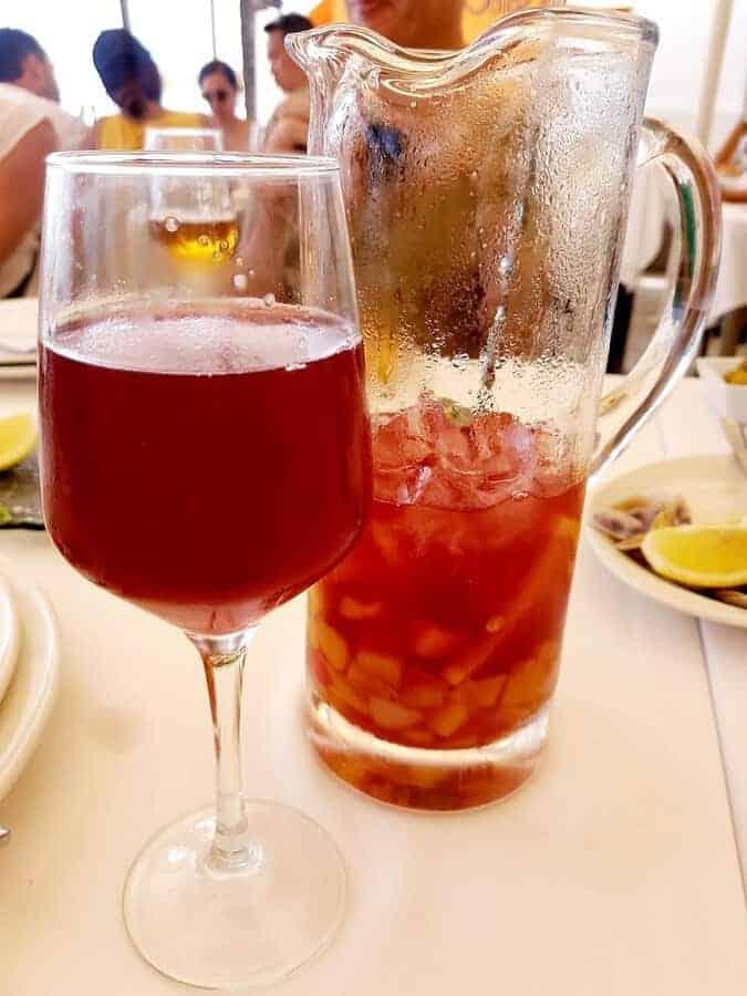 Sangria in Marbella