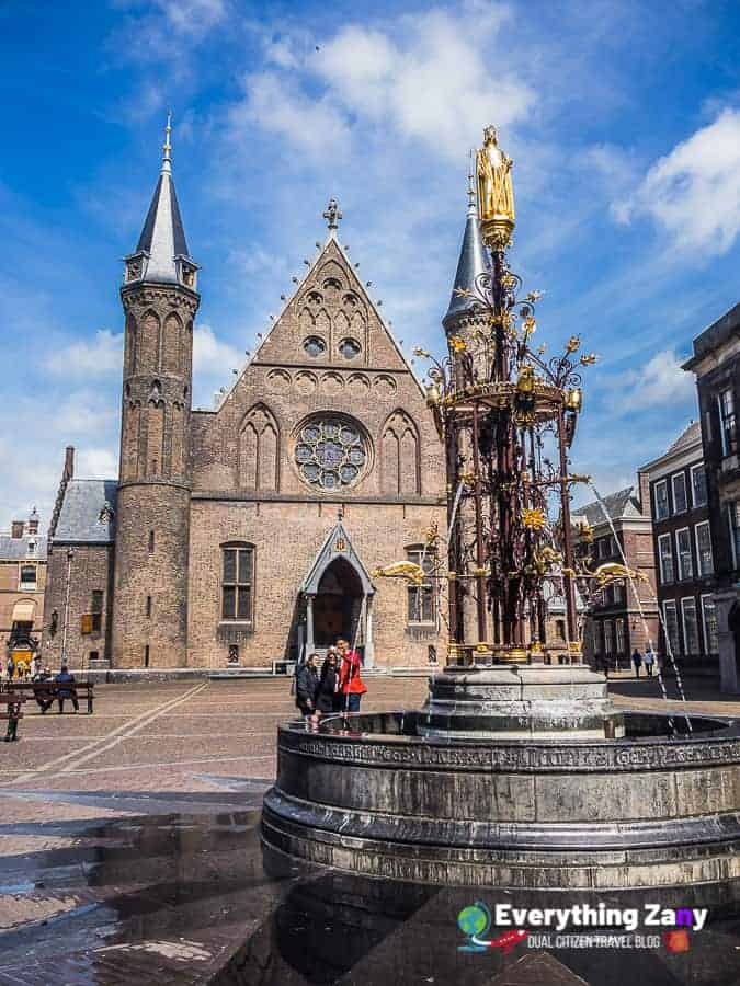 Ridderzaal in the Hague Netherlands