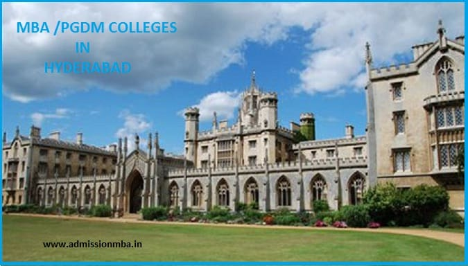 Top Colleges Hyderabad - Course & Fees
