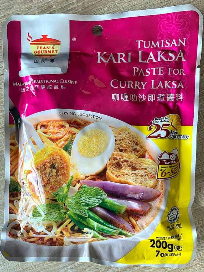 Laksa Curry Paste