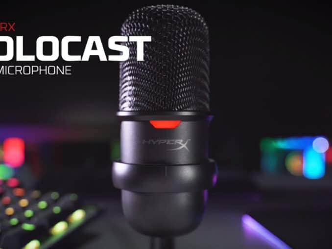 hyperx solocast microfono usb