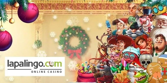 Lapalingo Christmas Bonus Calendar - free spins and free cash