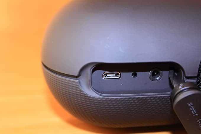 Conexiones altavoz Sony SRS-XB20