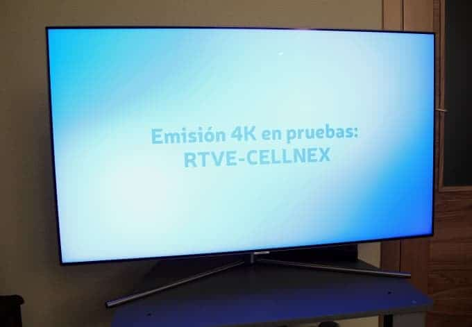 Canal de TVE en 4K a través de TDT-2