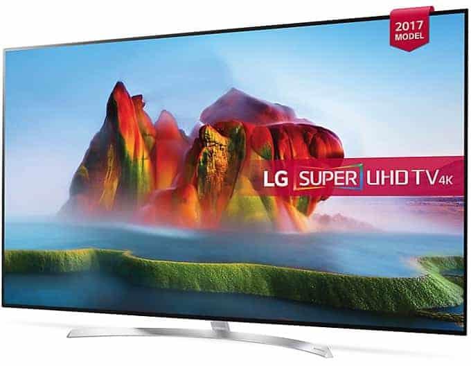 Diseño peana TV LG SJ850 Nanocell