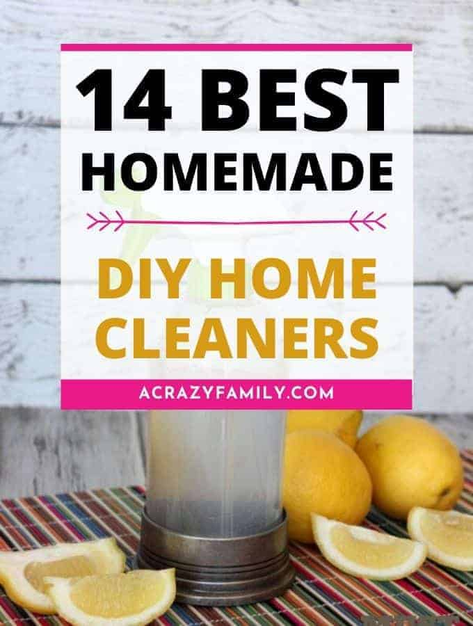 Best DIY Home Cleaners - 14 Frugal & Safe Cleaners You Can Make At Home