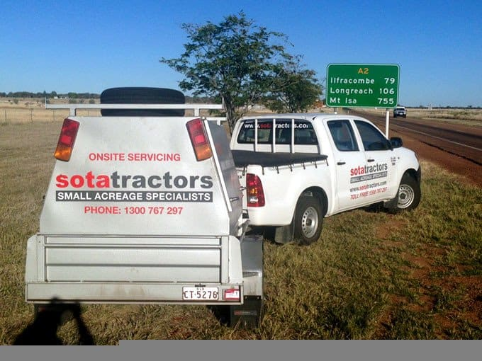 SOTA Tractors service is the best in the business.