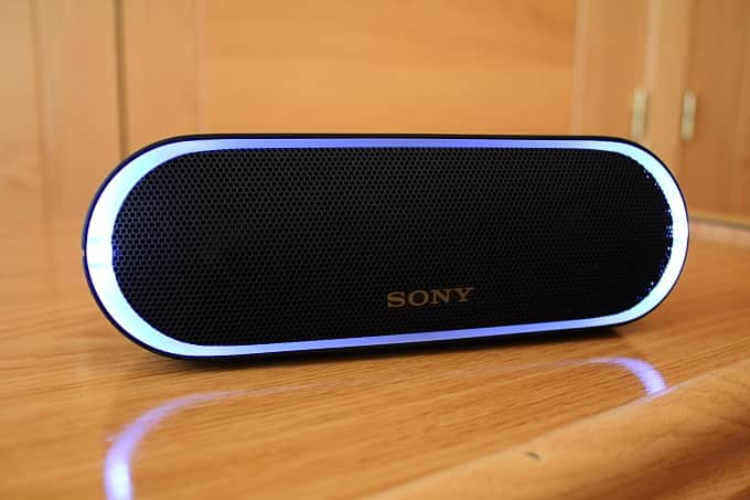 Luces Sony SRS-XB20