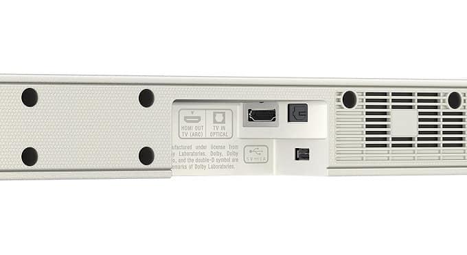 Conexiones barra de sonido Sony HT-CT 291 - CT290