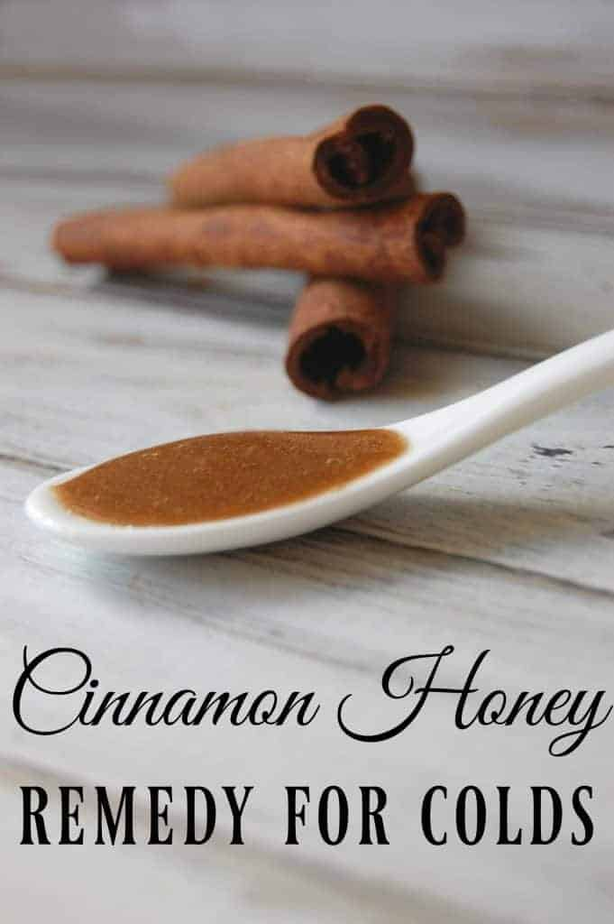 Cinnamon Honey Remedy for Colds - This is probably the world's simplest remedy and you already have all the ingredients! #naturalremedies #cold #cinnamon #honey #homeremedies