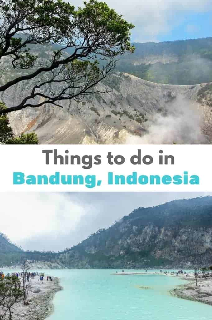 Things to do in Bandung Indonesia