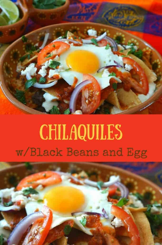 red or green chilaquiles brunch recipe