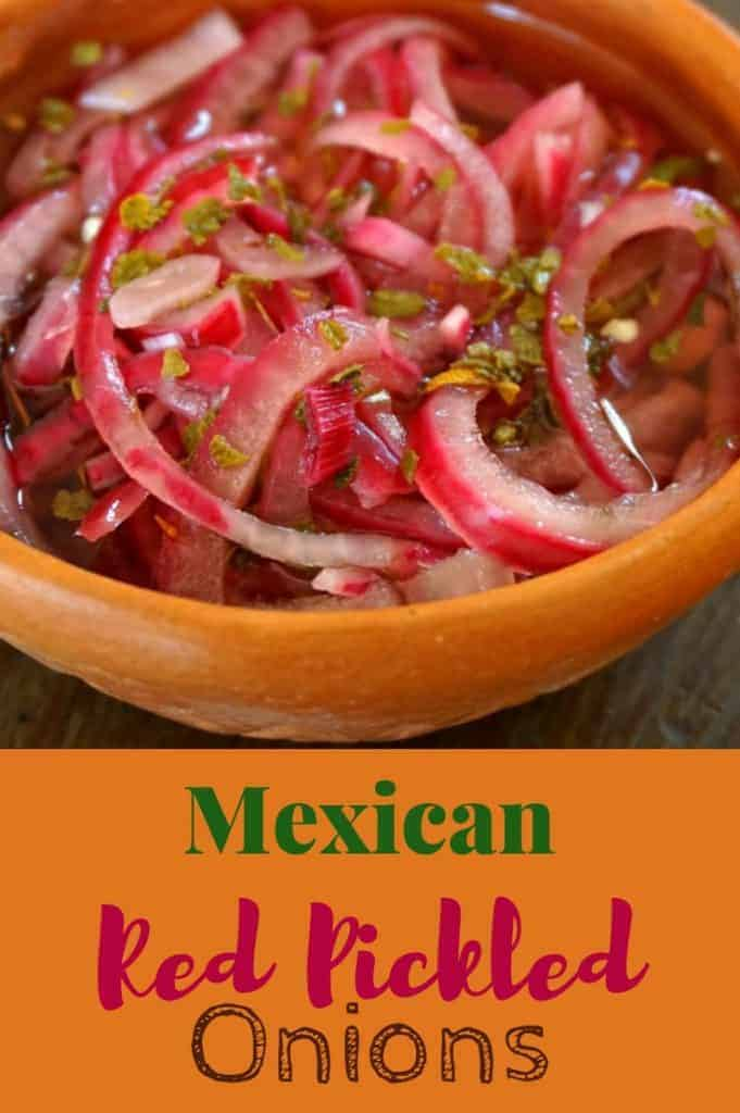 Pickled Red Onions with Habanero Peppers
