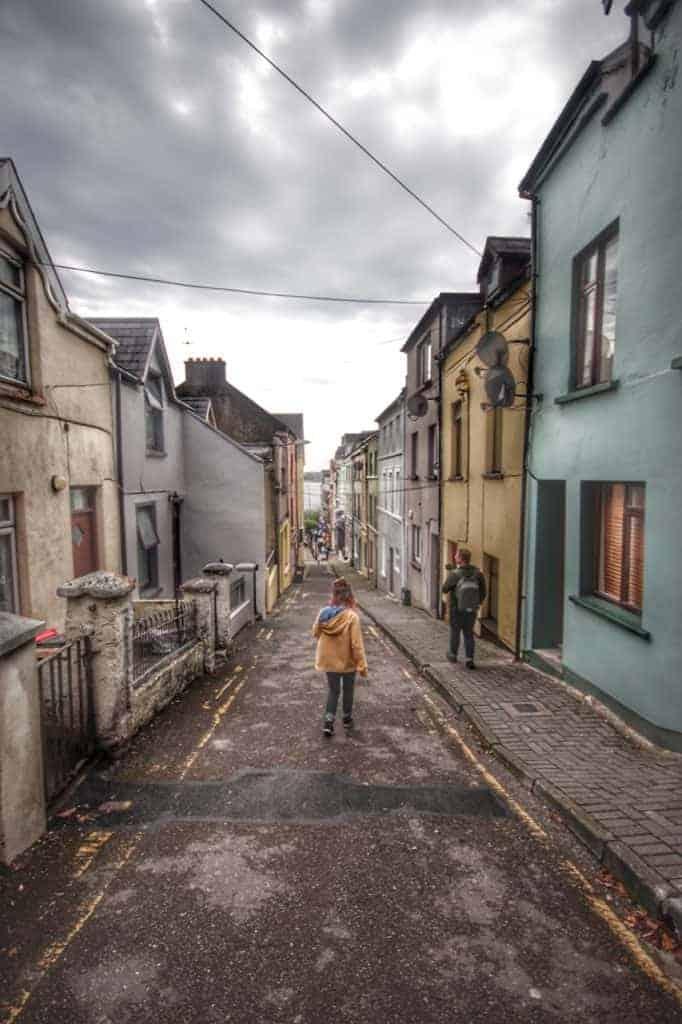 The Streets of Cobh on the Disney Magic Westbound Transatlantic cruise