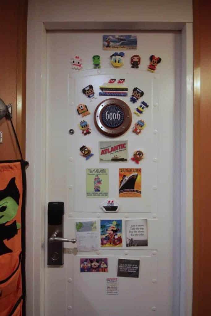 Disney Cruise Cabin Door Magnets
