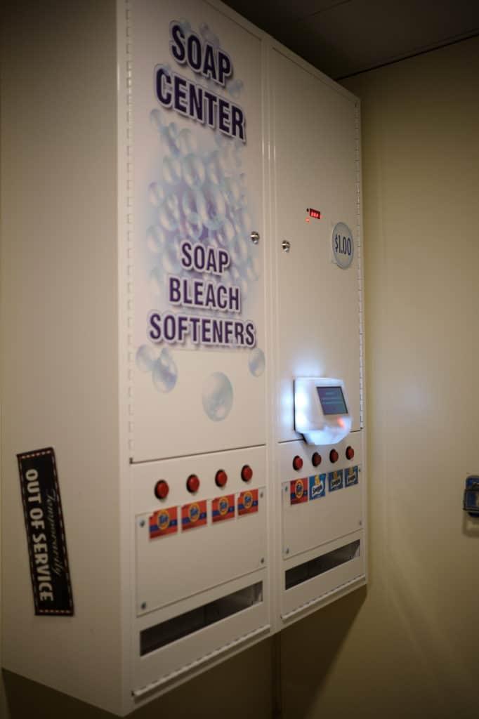 Soap Dispenser on a Disney Cruise