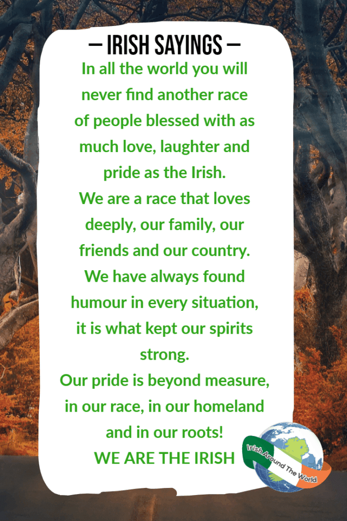 Irish Sayings: 65+ Irish Quotes, Irish Blessings For St