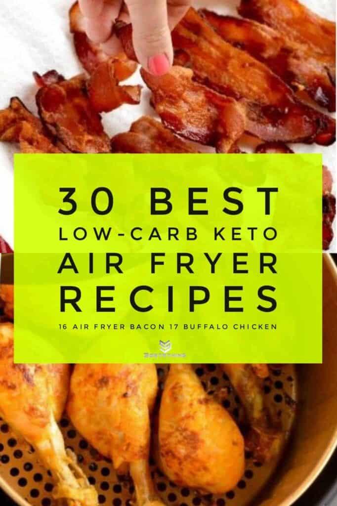 Air Fryer Bacon & Chicken Buffalo Wings