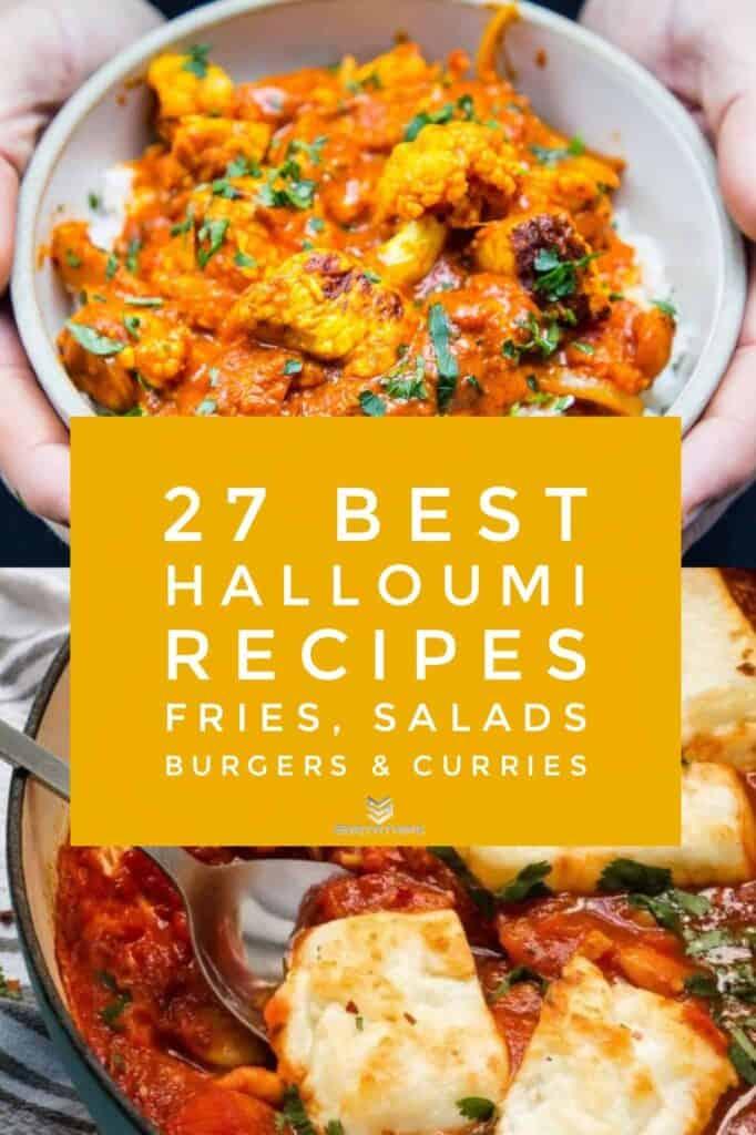 Creamy Halloumi Curry & Smoky Tomato & Halloumi Bake