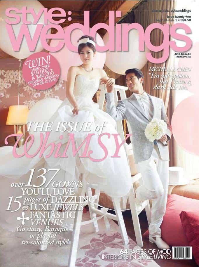 Style Weddings Sep 2013 Magazine Cover