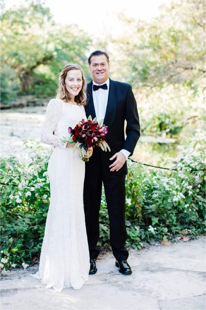 Alfred Caldwell Lily Pool wedding in Chicago