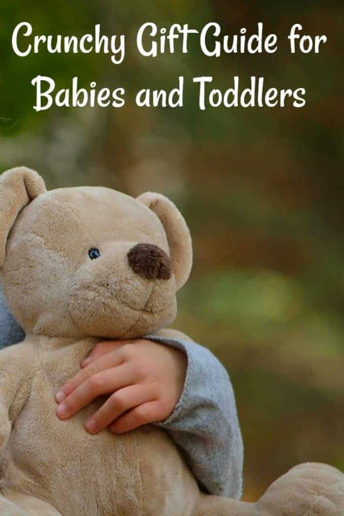 Crunchy Gift Guide for Babies and Toddlers