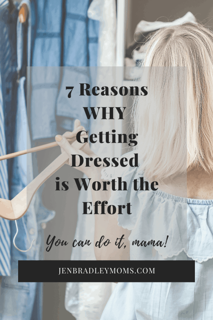 Pin this image if you think getting dressed is worth it