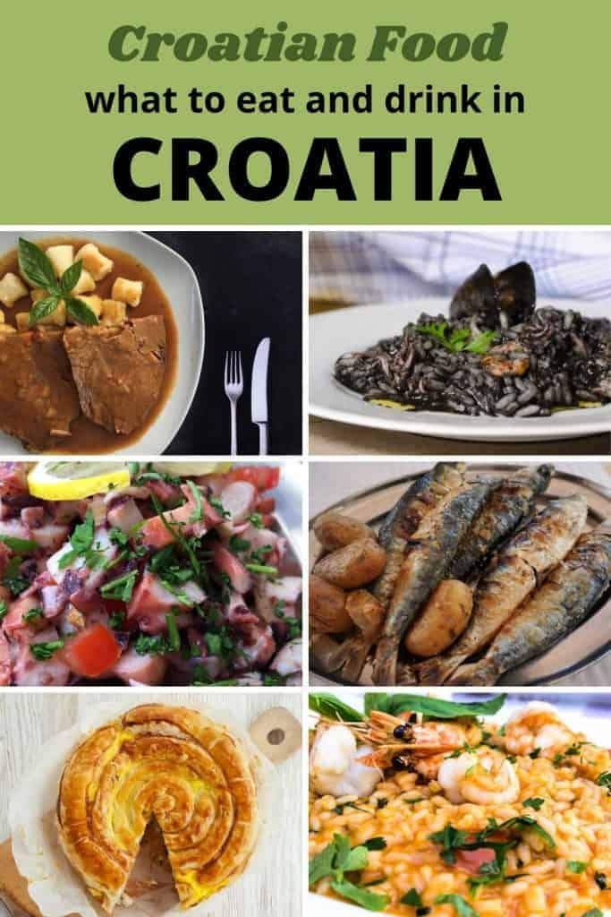 What to Eat and Drink in Croatia