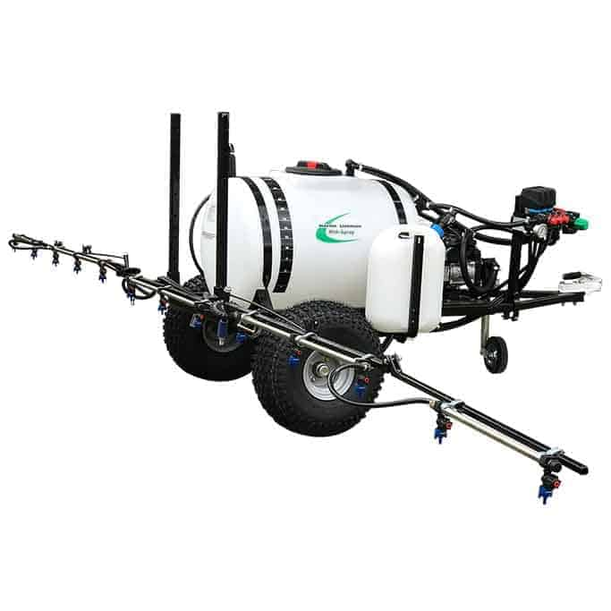 Martin Lishman trailed sprayers