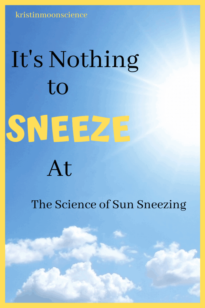 Are you one of the 10-35% of the population that sneezes when exposed to bright light (like the sun)? What causes sun sneezes? Would you believe it's programmed by your DNA? Explore the science and the genetics of sun sneezing (also known as Photic Sneeze Reflex or ACHOO Syndrome)