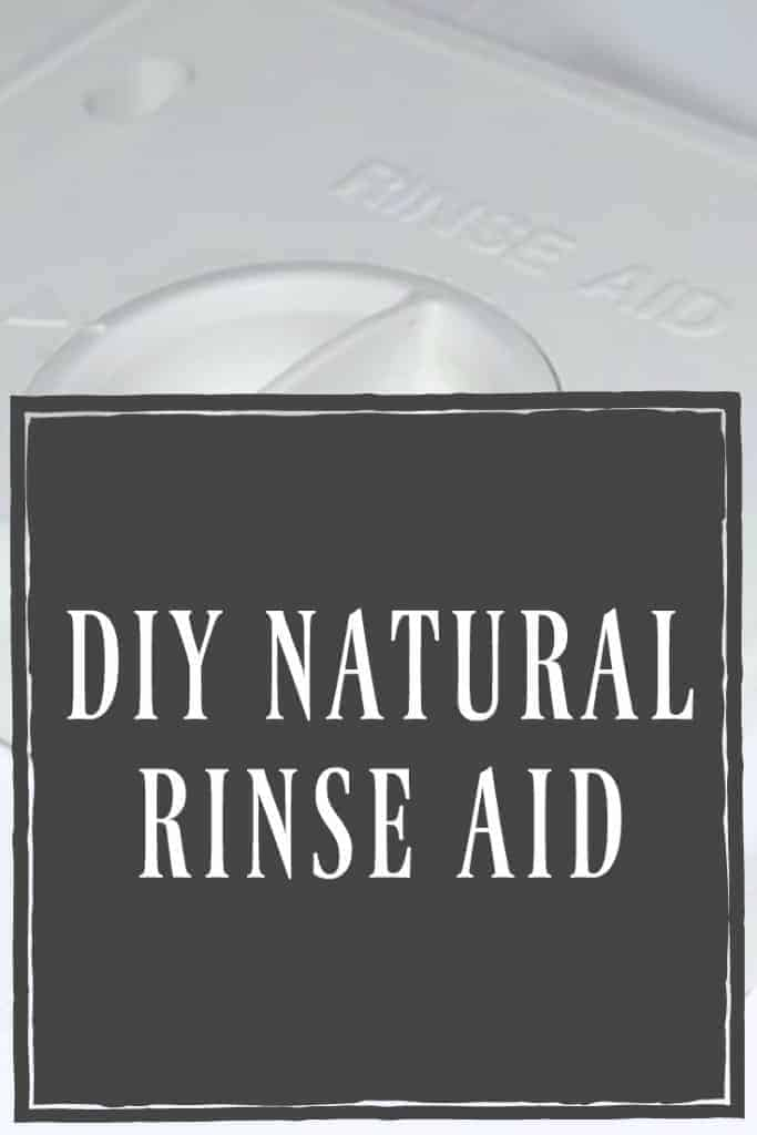 What if I told you there is a natural rinse aid that you already have in your pantry! It's natural and it's cheap! Learn all about this natural rinse aid!