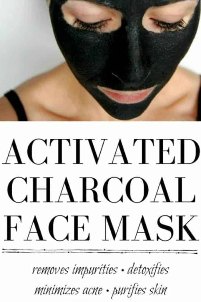 Activated Charcoal Face Mask - This lovely little mask is amazing at killing bacteria, getting rid of acne, and giving your face a nice deep cleaning, plus its a fun way to scare family members. #activatedcharcoal #facemask #detoxify #acne #deepcleaning #naturalskincare #greenbeauty