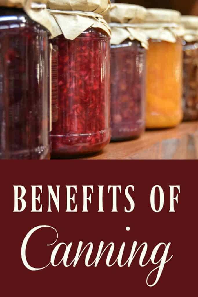 benefits of canning
