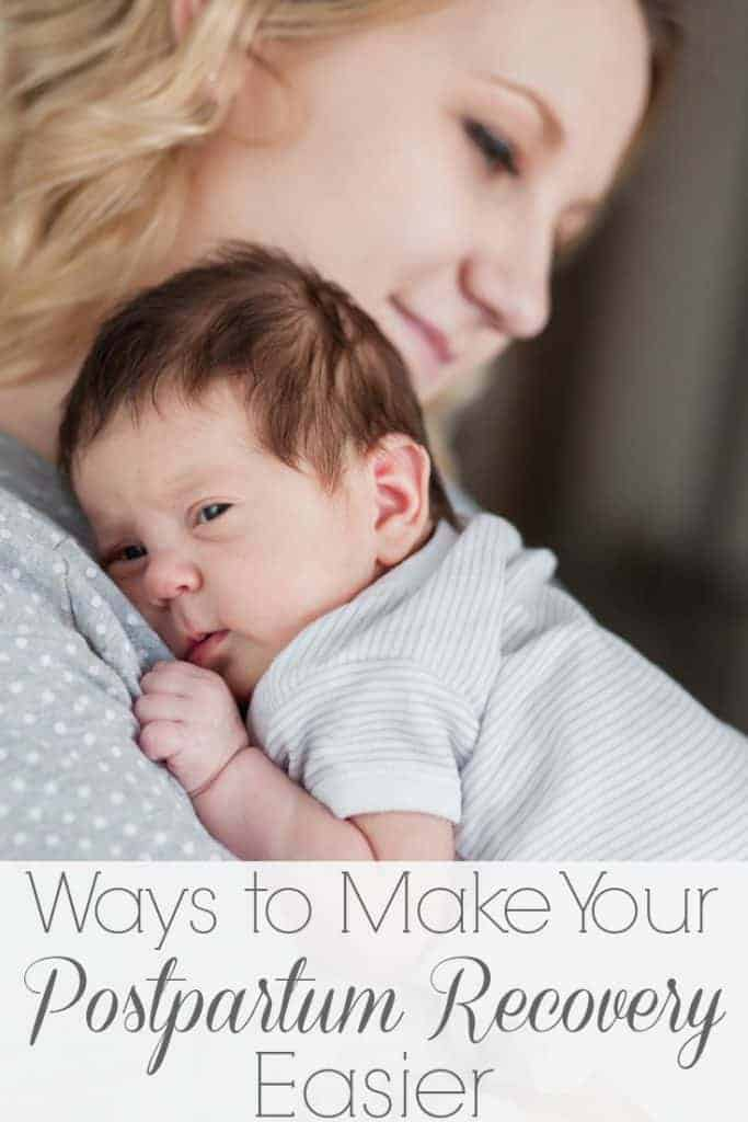 You are all prepped and ready for baby to arrive.. but don't forget about you, mama! You'll want to read these ways to make your postpartum recovery easier!!! #postpartum #newmom #4thtrimester #naturalparenting