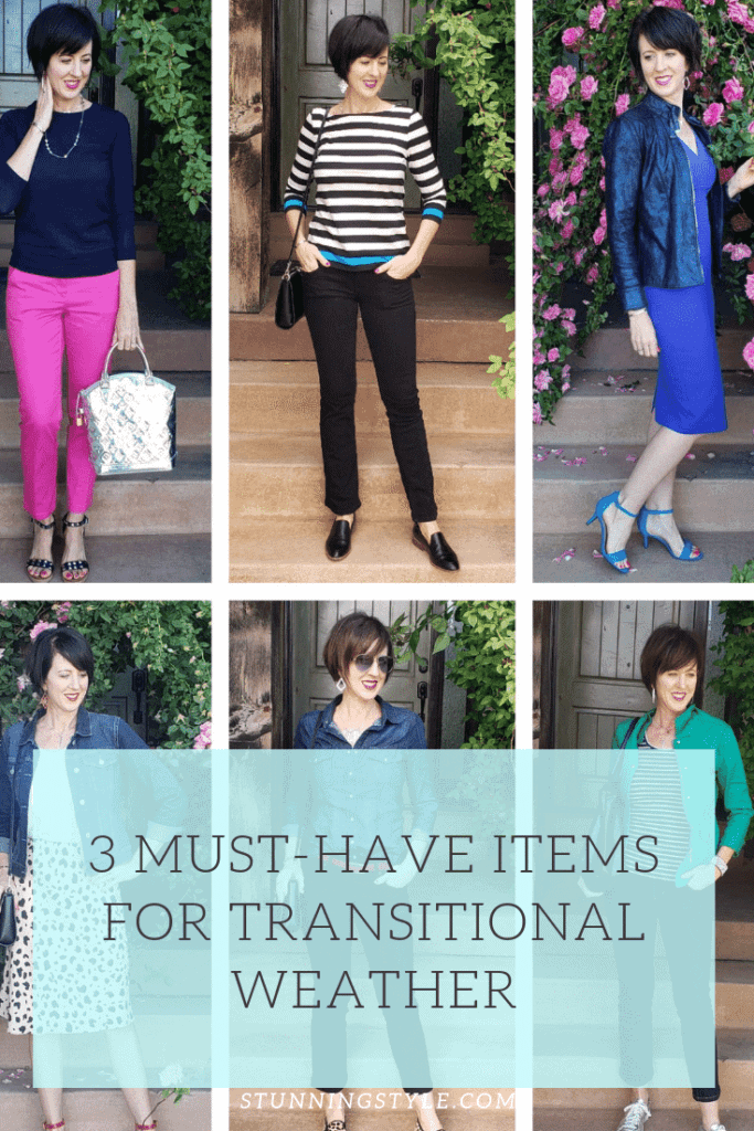 3 must-have items for transitional weather