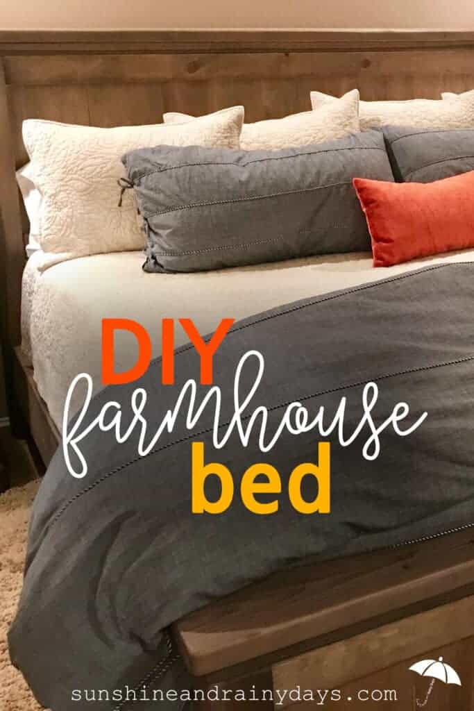 King Size Farmhouse Bed