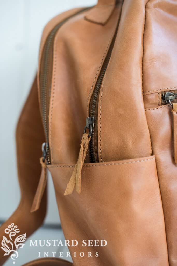 The Creative Exponent | Creative Contraptions | ABLE Leather Backpack