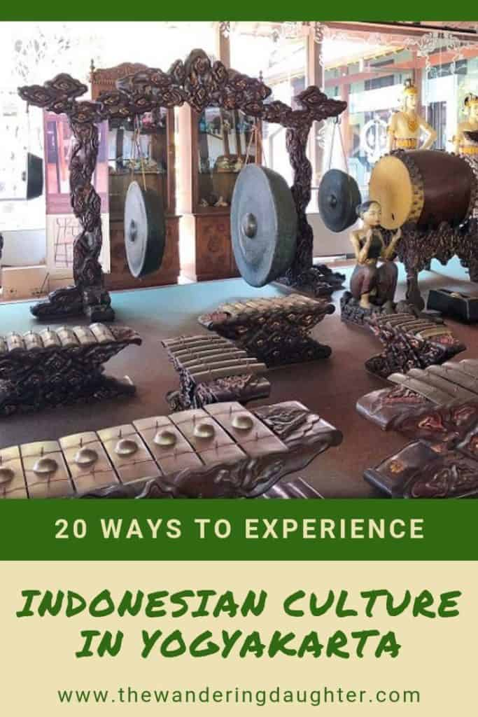 Gamelan instruments from Indonesia, an example of Indonesian culture.