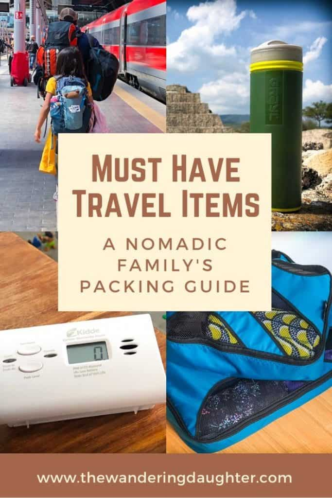 Must Have Travel Items: A Nomadic Family's Packing Guide | The Wandering Daughter